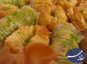 طرز تهیه باقلوای لبنانی