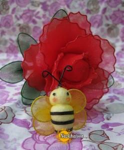 آموزش تهیه عروسک زنبور طلایی (تصویری)