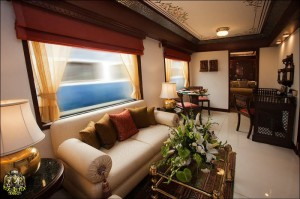 لوکس ترین قطار جهان در هند