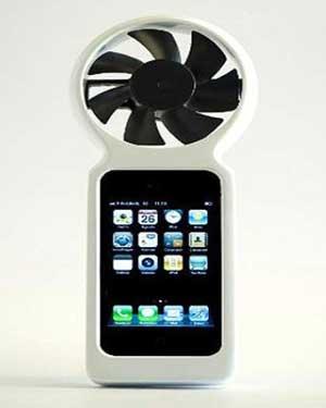 گوشی خود را بوسیله باد شارژ کنید !